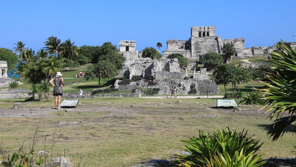 Impressionen der Maya-Ruinen in Tulum, Mexico / Foto: Oliver Asmussen/oceanliner-pictures.com
