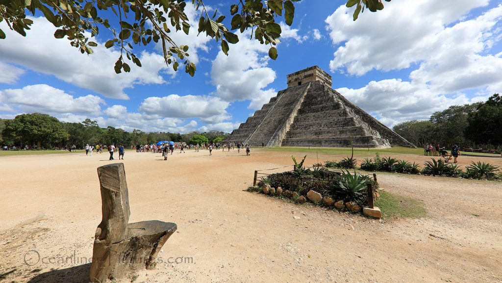 Kukulcan-Pyramide Chichen Itza, Mexico, Yucatan / Foto: Oliver Asmussen/oceanliner-pictures.com