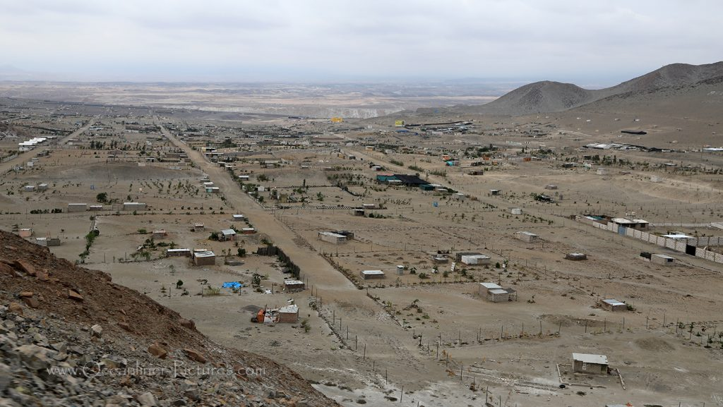 Landschaftsbild in Peru bei Matarani / Foto: Oliver Asmussen/oceanliner-pictures.com