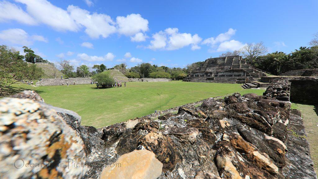 Maya Tempel Altun Ha, Belize / Foto: Oliver Asmussen/oceanliner-pictures.com