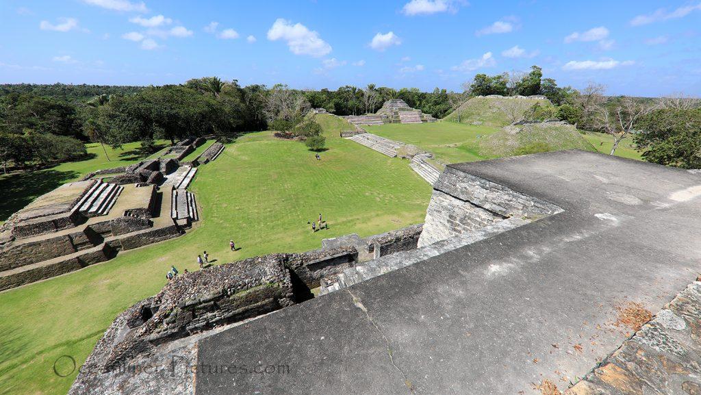 Maya Tempel in Altun Ha, Belize / Foto: Oliver Asmussen/oceanliner-pictures.com