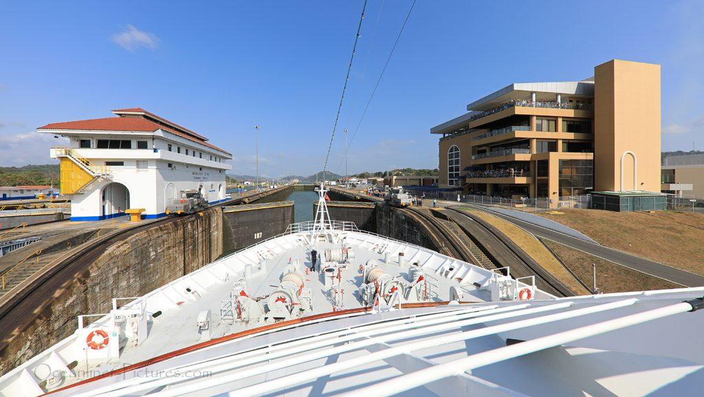 Miraflores Schleusen und Visitor Center Panamakanal / Foto: Oliver Asmussen/oceanliner-pictures.com