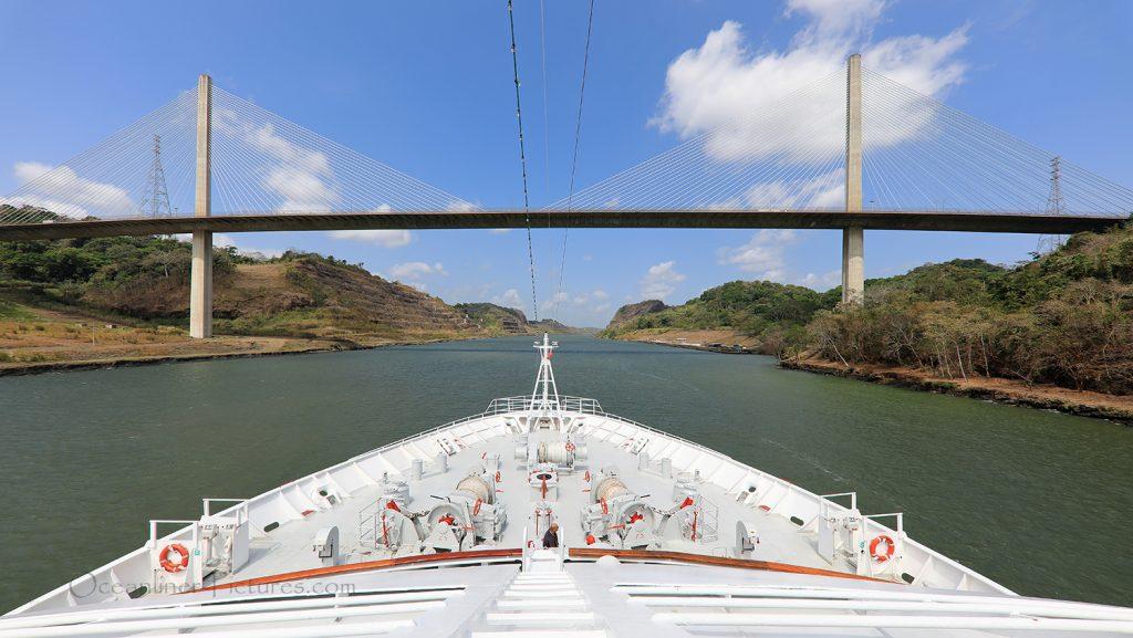 Puente Centenario und Culebra Cut Panama Canal MS Hamburg / Foto: Oliver Asmussen/oceanliner-pictures.com