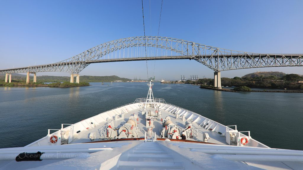 Puente de las Americas Panamakanal / Foto: Oliver Asmussen/oceanliner-pictures.com
