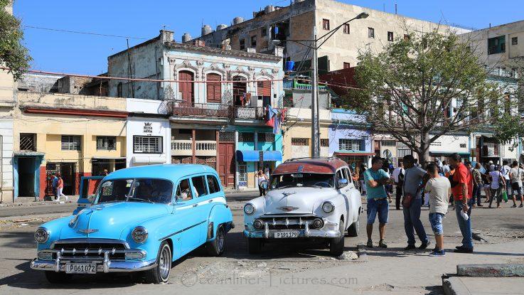 Straßenleben in Havanna, Kuba / Foto: Oliver Asmussen/oceanliner-pictures.com