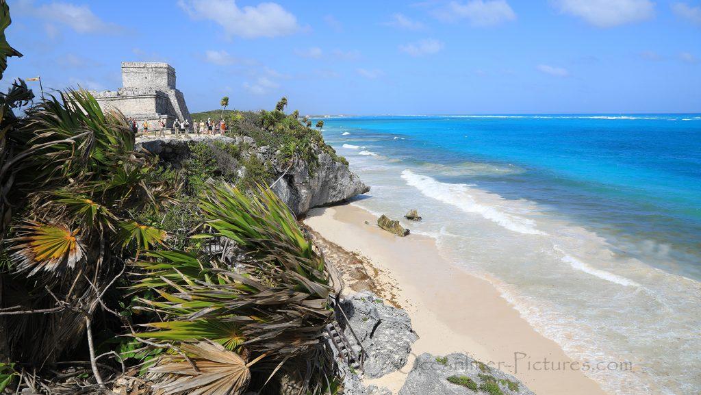 Tulum Maya-Ruinen mit Strand, Mexico / Foto: Oliver Asmussen/oceanliner-pictures.com