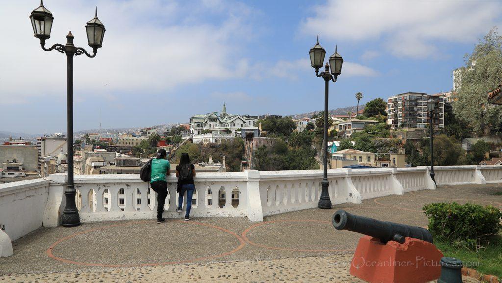 Valparaiso Panoramablick in Richtung Altstadt / Foto: Oliver Asmussen/oceanliner-pictures.com