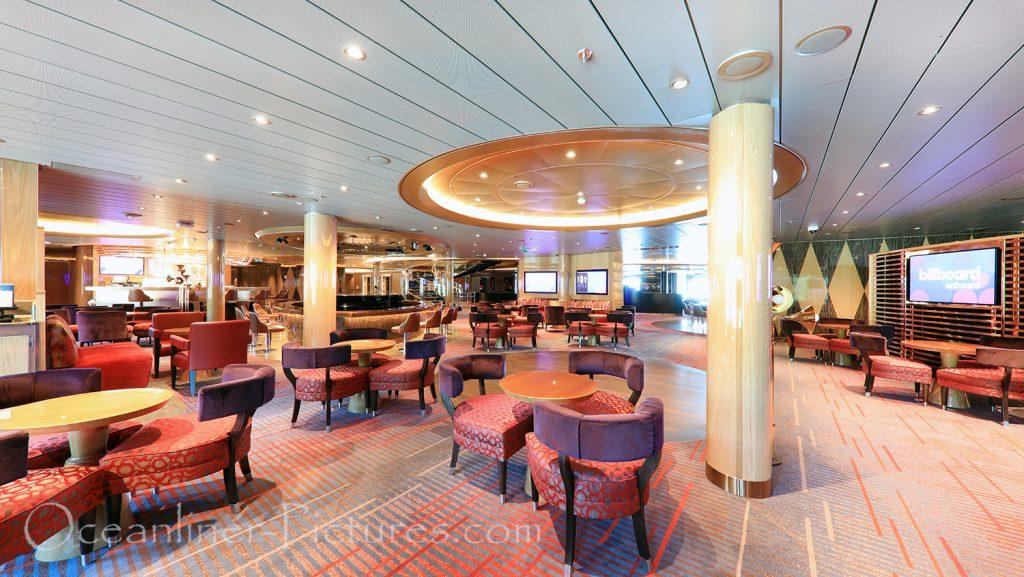 Billboard Onboard Nieuw Statendam / Foto: Oliver Asmussen/oceanliner-pictures.com