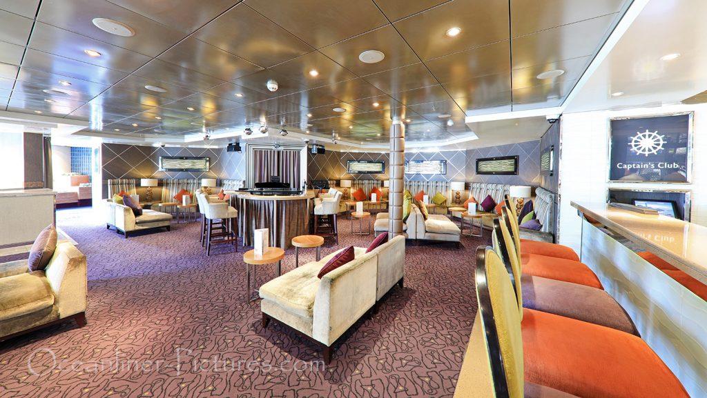 Captain´s Club Lounge Vasco Da Gama / Foto: Oliver Asmussen/oceanliner-pictures.com
