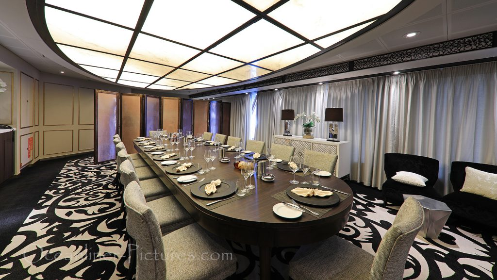 Chefs Table Restaurant Vasco Da Gama / Foto: Oliver Asmussen/oceanliner-pictures.com