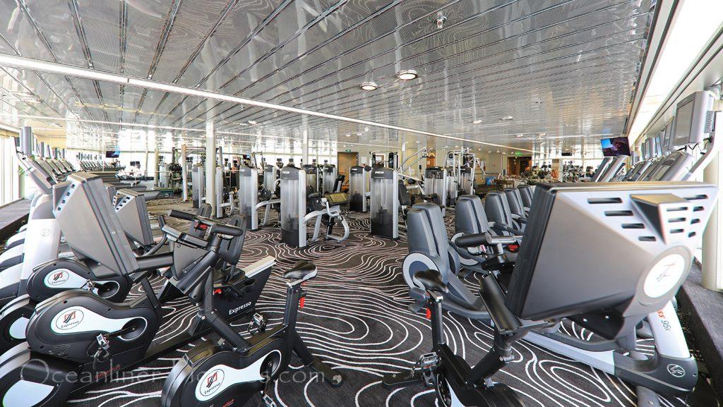 Fitness Center Vasco Da Gama / Foto: Oliver Asmussen/oceanliner-pictures.com