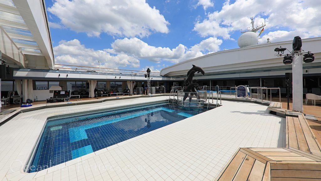 Lido Pool, Whirlpools und Magrodome Vasco Da Gama / Foto: Oliver Asmussen/oceanliner-pictures.com