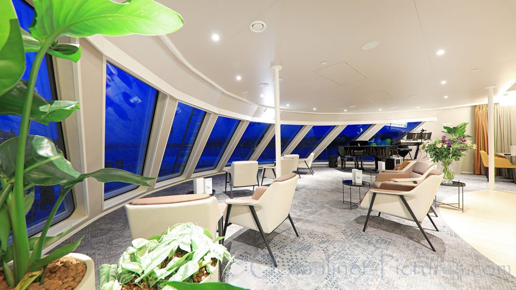 Panorama-Lounge MS Viola vorderer Bereich / Foto: Oliver Asmussen/oceanliner-pictures.com
