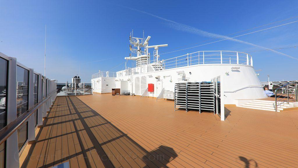 Sky Deck Sonnendeck Nieuw Statendam / Foto: Oliver Asmussen/oceanliner-pictures.com