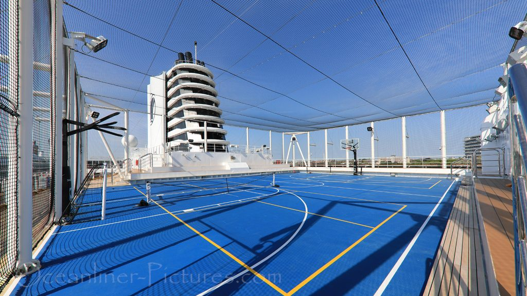 Sport Court Nieuw Statendam / Foto: Oliver Asmussen/oceanliner-pictures.com