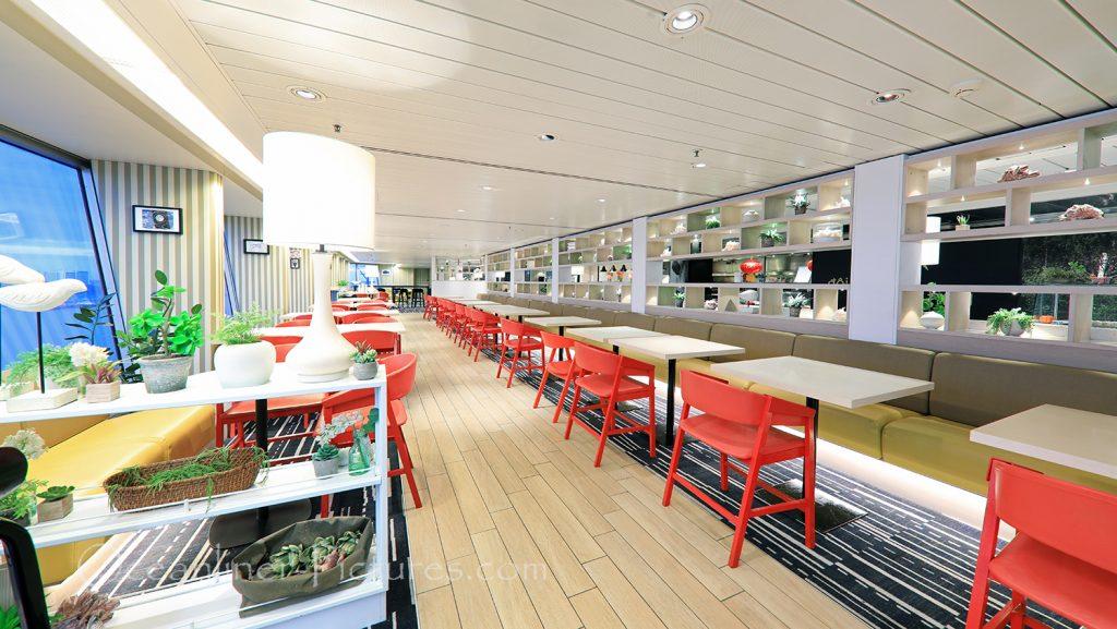 The Club Bistro Restaurant Vasco Da Gama / Foto: Oliver Asmussen/oceanliner-pictures.com