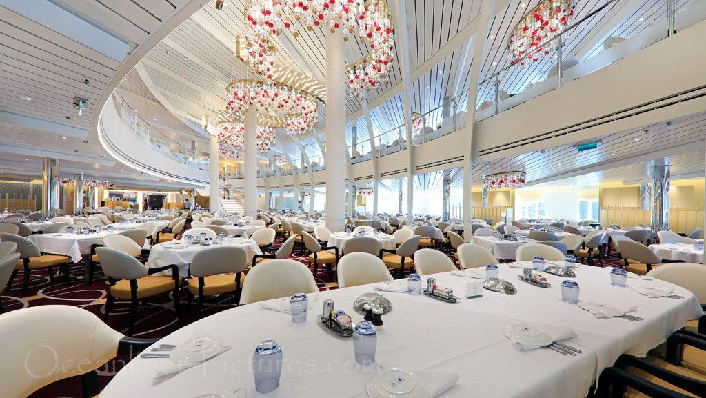 The Dining Room Nieuw Statendam / Foto: Oliver Asmussen/oceanliner-pictures.com