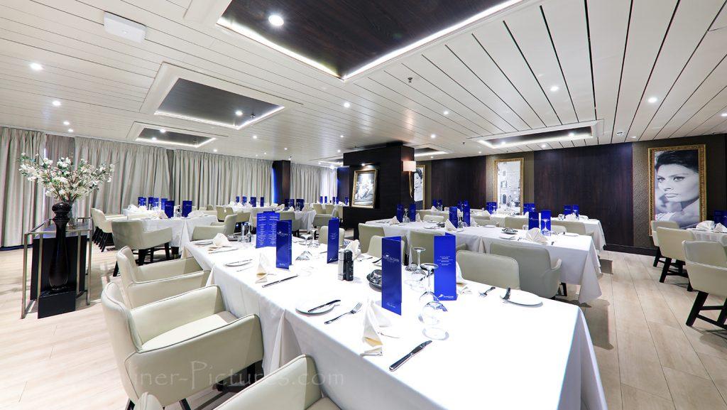 The Waterfront Mediterranean Restaurant Vasco Da Gama / Foto: Oliver Asmussen/oceanliner-pictures.com