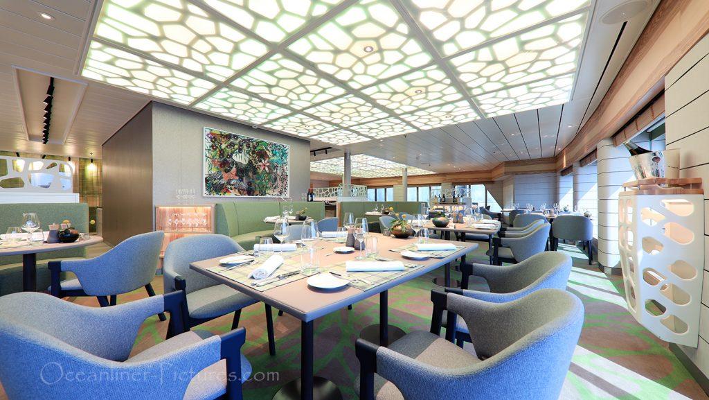 Hanseatic Restaurant Hanseatic nature / Foto: Oliver Asmussen/oceanliner-pictures.com