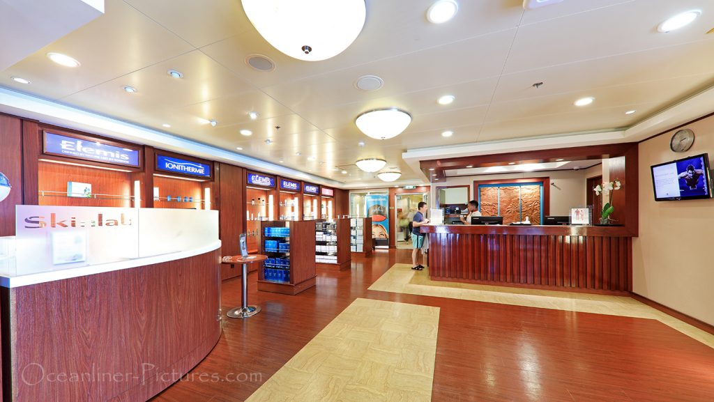 Mandara Spa and Salon Norwegian Pearl / Foto: Oliver Asmussen/oceanliner-pictures.com