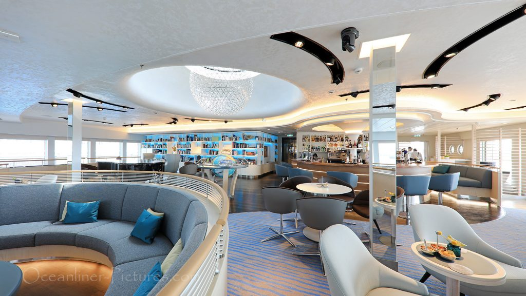 Observation Lounge Hanseatic nature / Foto: Oliver Asmussen/oceanliner-pictures.com