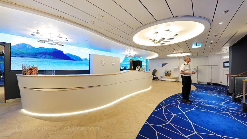 Reception Hanseatic nature / Foto: Oliver Asmussen/oceanliner-pictures.com