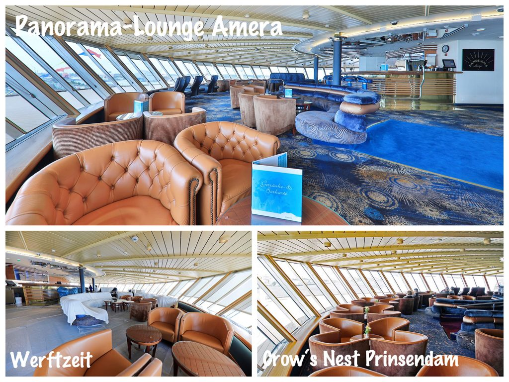 Bild 05 Crows Nest wird Panorama-Lounge MS Amera / Foto: Oliver Asmussen/oceanliner-pictures.com
