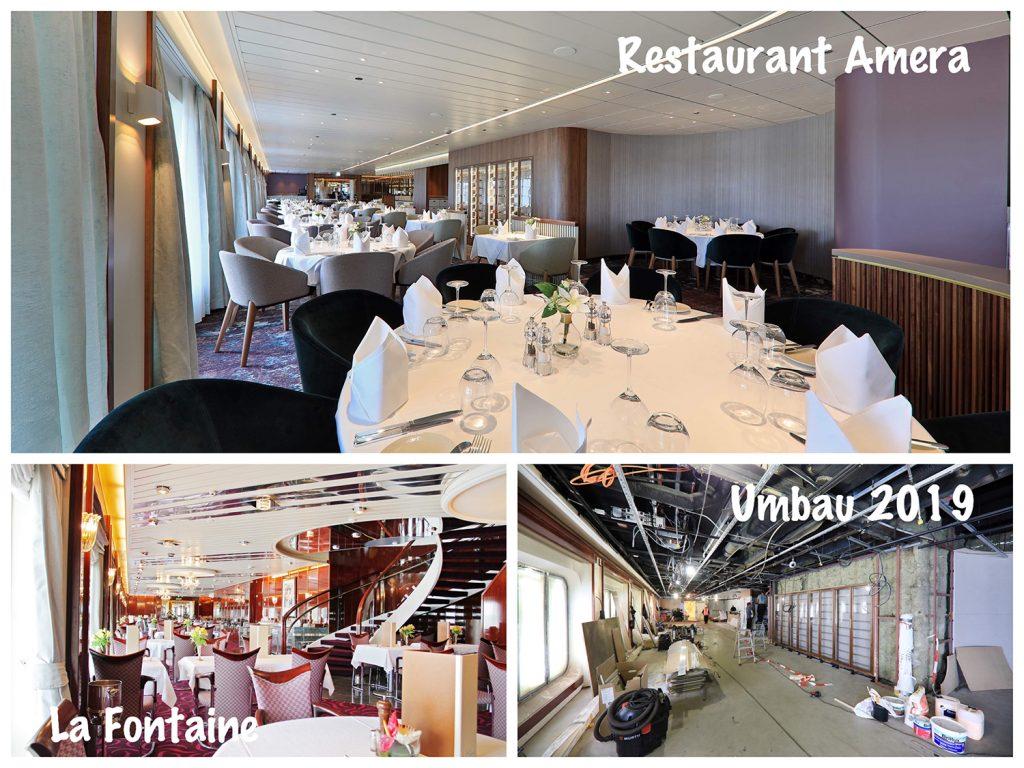 Bild 14 La Fontaine Dining Room wird Restaurant Amera / Foto: Oliver Asmussen/oceanliner-pictures.com