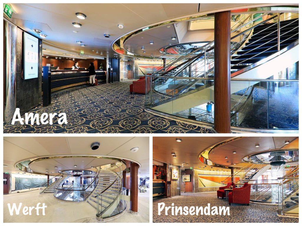 Bild 19 Das Foyer und Rezeption der MS Amera / Foto: Oliver Asmussen/oceanliner-pictures.com