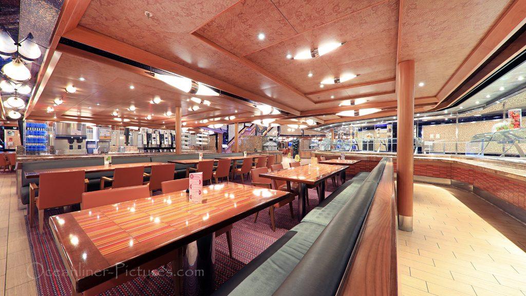 Buffet Restaurant Duca d´Orleans Costa Favolosa / Foto: Oliver Asmussen/oceanliner-pictures.com