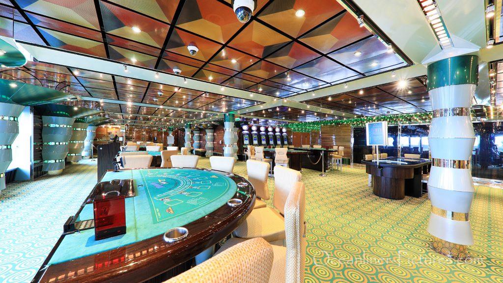 Casino El Dorado Costa Favolosa / Foto: Oliver Asmussen/oceanliner-pictures.com