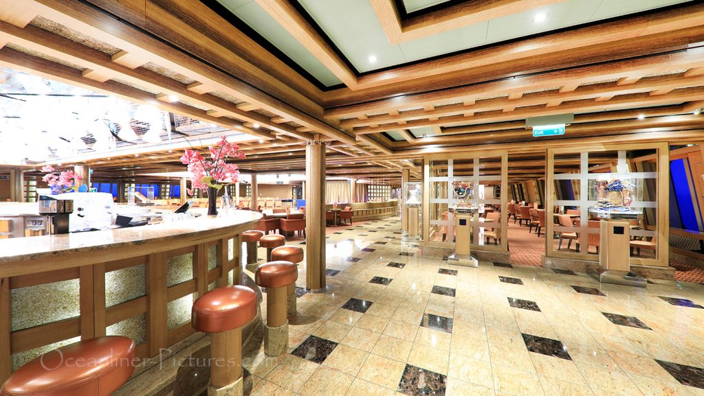 The Grand Bar Palatino Costa Favolosa / Foto: Oliver Asmussen/oceanliner-pictures.com