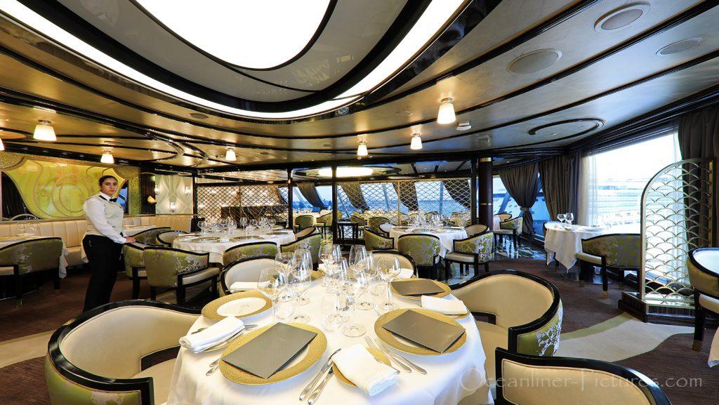 Chartreuse Restaurant Seven Seas Explorer / Foto: Oliver Asmussen/oceanliner-pictures.com
