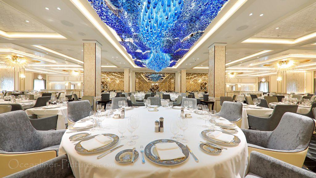 Compass Rose Restaurant Seven Seas Explorer / Foto: Oliver Asmussen/oceanliner-pictures.com