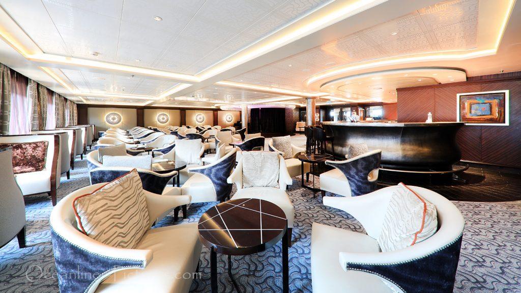 Meridian Lounge Seven Seas Explorer / Foto: Oliver Asmussen/oceanliner-pictures.com