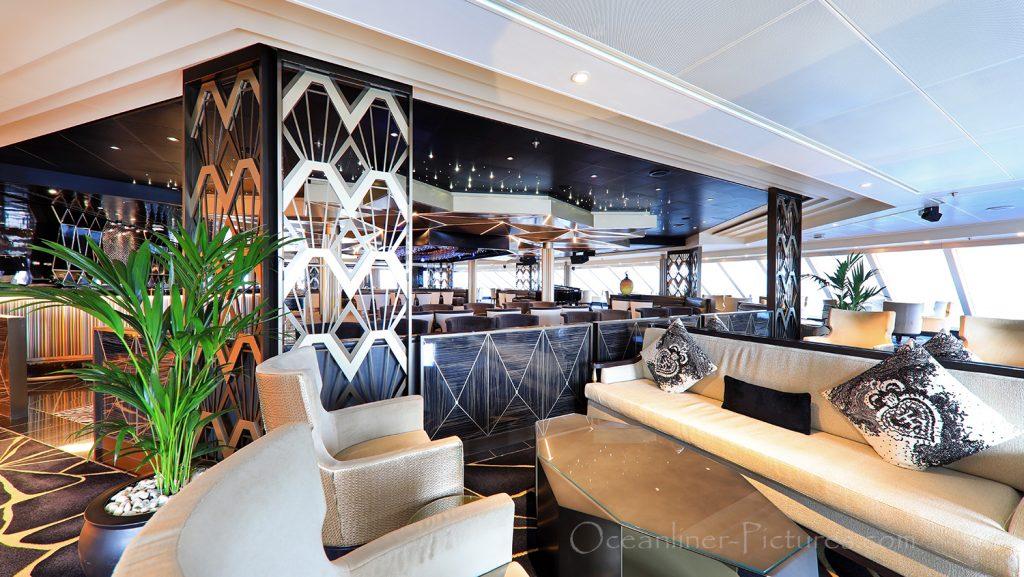 Observation Lounge Seven Seas Explorer / Foto: Oliver Asmussen/oceanliner-pictures.com
