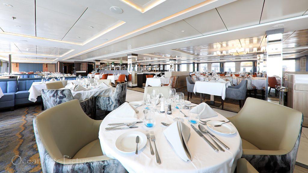 Restaurant World Explorer / Foto: Oliver Asmussen/oceanliner-pictures.com