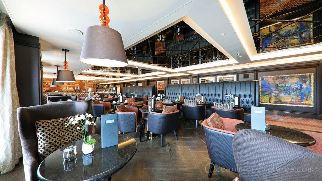 The Cafe Seven Seas Explorer / Foto: Oliver Asmussen/oceanliner-pictures.com