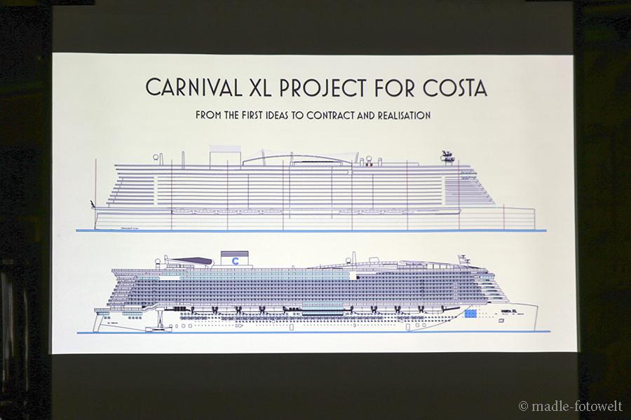 Entwurf Costa Schiff, Foto: madle-fotowelt