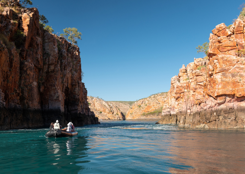 PONANT Le Lapérouse in den Kimberleys © Ponant - Nick Rains