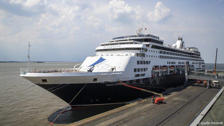 TransOcean Kreuzfahrten - Vasco da Gama, Foto: madle-fotowelt