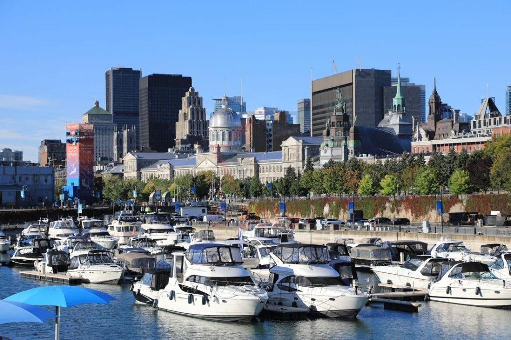 Alter Hafen und Bonsecours Market Montreal / Foto: Oliver Asmussen/oceanliner-pictures.com