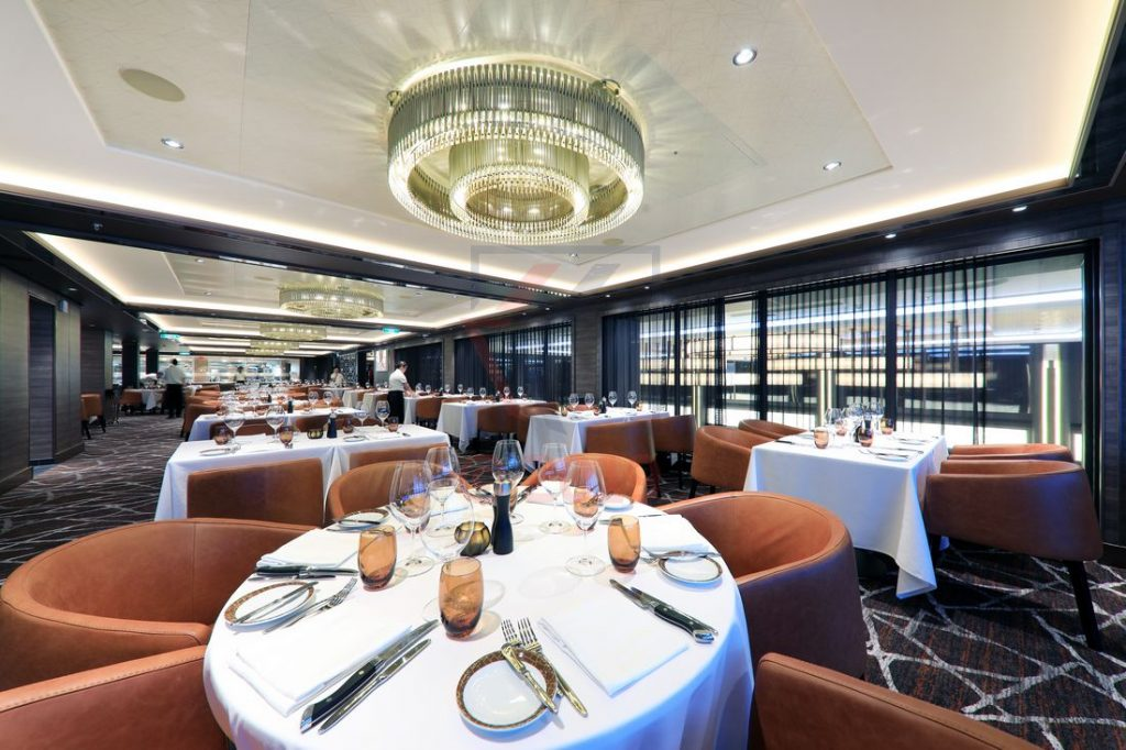 Cagneys Steakhouse Norwegian Encore / Foto: Oliver Asmussen/oceanliner-pictures.com