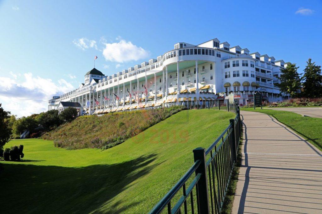 Grand Hotel Mackinac Aussenansicht / Foto: Oliver Asmussen/oceanliner-pictures.com