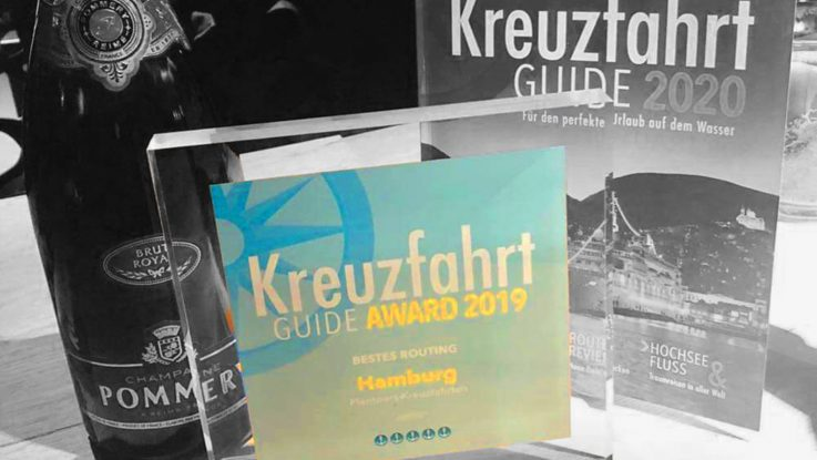 Kreuzfahrt Guide und Kreuzfahrt Guide Award 2019 MS Hamburg / Foto: Plantours Kreuzfahrten