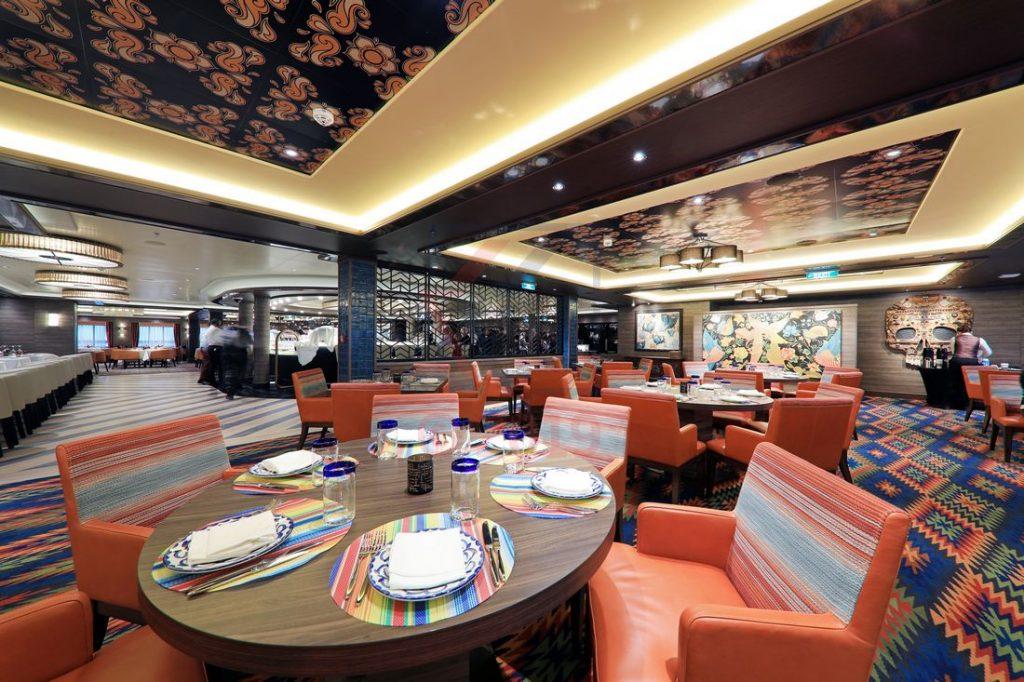 Los Lobos Restaurant Norwegian Encore / Foto: Oliver Asmussen/oceanliner-pictures.com