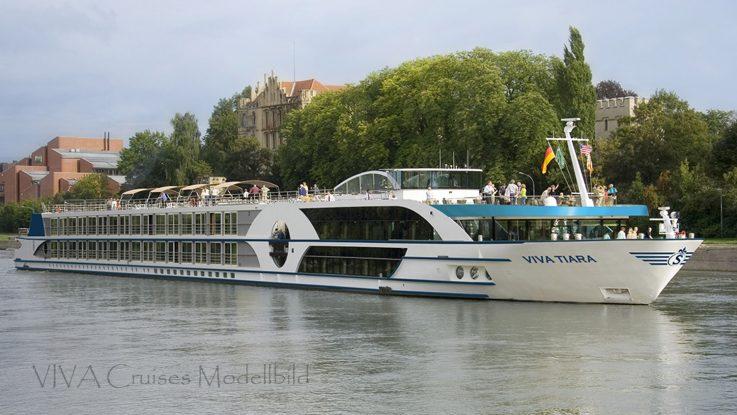 MS VIVA Tiara ex Swiss Tiara Viva Cruises / Foto: VIVA Cruises Modellbild