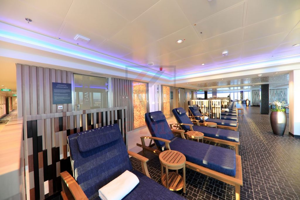 Mandara Spa Norwegian Encore / Foto: Oliver Asmussen/oceanliner-pictures.com