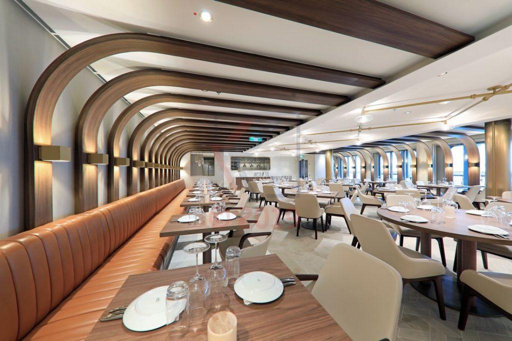 Onda by Scarpetta Restaurant Norwegian Encore / Foto: Oliver Asmussen/oceanliner-pictures.com