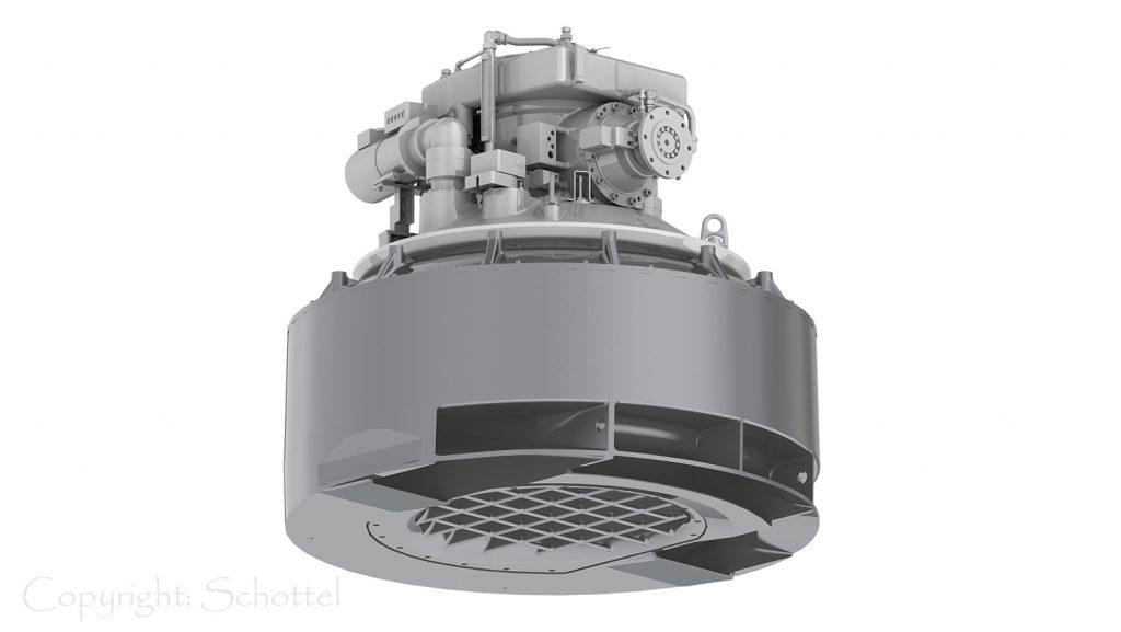 Schottel Pump Jet Beispiel World Explorer / photo: Schottel